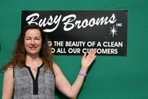 Annmarie, owner of BusyBrooms