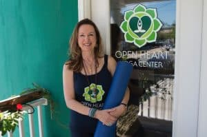 Annmarie at Open Heart Yoga Center