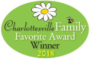2018 Charlottesville Family Favorite Award Winner
